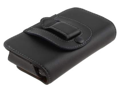 Extra-tough Genuine Leather ShineColours belt pouch for HTC Desire S