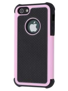 Impact Case for iPhone SE/5s/5 - Baby Pink/Classic Black