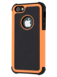 Impact Case for iPhone SE/5s/5 - Orange/Classic Black Impact Case