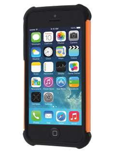 Apple iPhone SE/5s/5 Impact Case - Orange/Classic Black