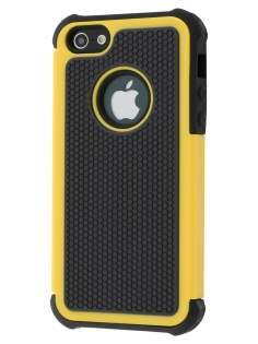 Apple iPhone SE/5s/5 Impact Case - Canary Yellow/Classic Black