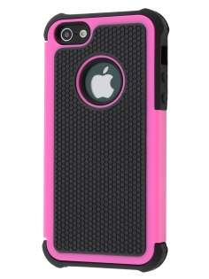 Impact Case for iPhone SE/5s/5 - Hot Pink/Classic Black Impact Case