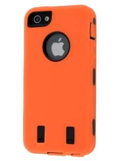 Defender Case for iPhone 5 only - Orange/Black