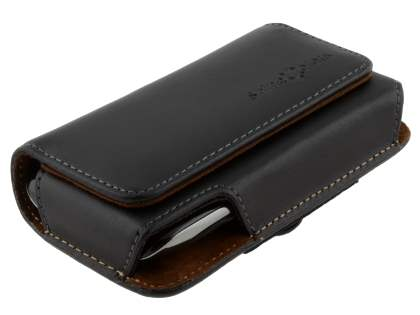 Extra-tough Genuine Leather ShineColours belt pouch for BlackBerry Torch 9860