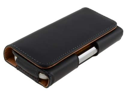 Smooth Synthetic Leather Belt Pouch for Nokia C7