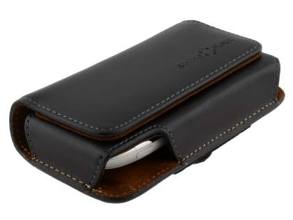 Extra-tough Genuine Leather ShineColours belt pouch for Nokia C7