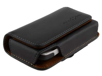 Extra-tough Genuine Leather ShineColours belt pouch for HTC Legend