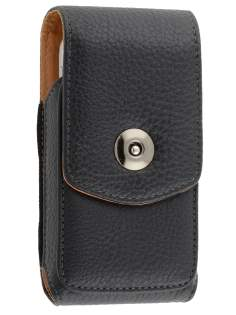 Textured Synthetic Leather Vertical Belt Pouch for HTC Legend - Belt Pouch