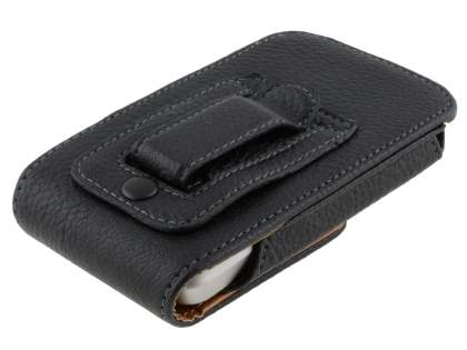 Textured Synthetic Leather Vertical Belt Pouch for HTC Legend