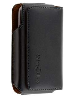 Extra-tough Genuine Leather ShineColours belt pouch for HTC Google Nexus One - Belt Pouch