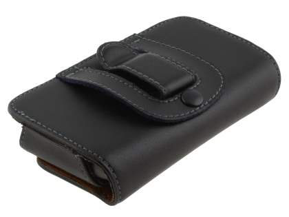 Extra-tough Genuine Leather ShineColours belt pouch for HTC Google Nexus One