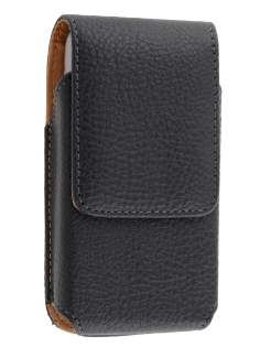 Textured Synthetic Leather Vertical Belt Pouch for HTC Google Nexus One - Belt Pouch