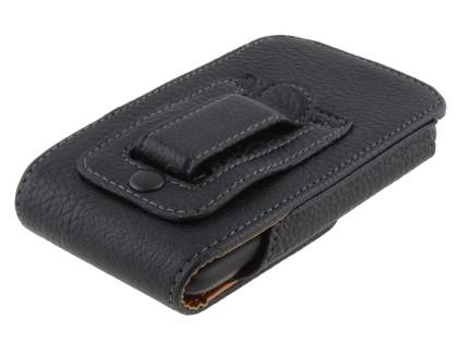 Textured Synthetic Leather Vertical Belt Pouch for HTC Incredible S
