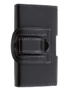 Smooth Synthetic Leather Belt Pouch for Nokia E5