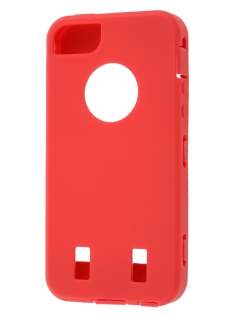 Defender Case for iPhone 5 only - Red/Black
