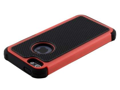 Impact Case for iPhone SE/5s/5 - Red/Classic Black