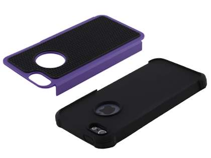 Apple iPhone SE/5s/5 Impact Case - Purple/Classic Black