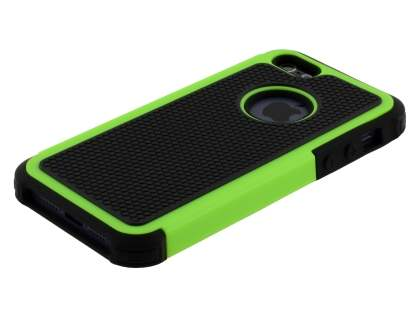 Apple iPhone SE/5s/5 Impact Case - Green/Classic Black