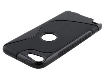 iPod Touch 5 Wave Case - Frosted Black/Black