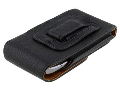 Textured Synthetic Leather Vertical Belt Pouch for Nokia Lumia 610