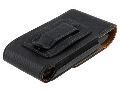 Textured Synthetic Leather Vertical Belt Pouch for Nokia Lumia 710
