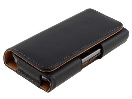 Smooth Synthetic Leather Belt Pouch for Nokia E6