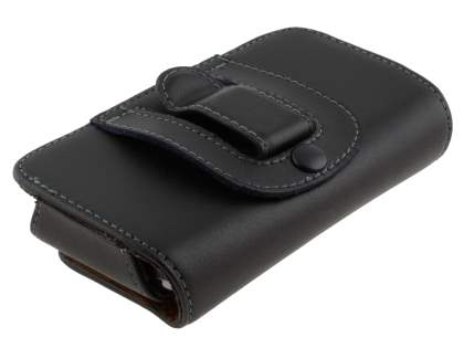 Extra-tough Genuine Leather ShineColours belt pouch for Nokia E6