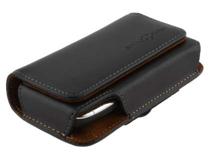 Extra-tough Genuine Leather ShineColours belt pouch for Nokia E72