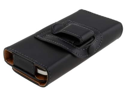 Smooth Synthetic Leather Belt Pouch for LG Optimus One P500