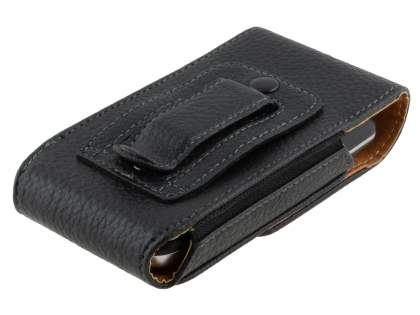 Textured Synthetic Leather Vertical Belt Pouch for LG Optimus One P500