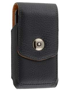Textured Synthetic Leather Vertical Belt Pouch for Motorola ATRIX 4G