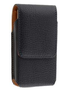 Textured Synthetic Leather Vertical Belt Pouch for Sony Ericsson Xperia NEO - Belt Pouch