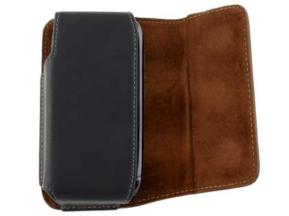 Extra-tough Genuine Leather ShineColours belt pouch for Nokia E71