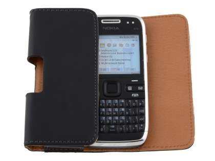 Smooth Synthetic Leather Belt Pouch for Nokia E72