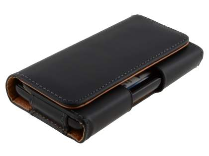 Smooth Synthetic Leather Belt Pouch for Motorola ATRIX 4G