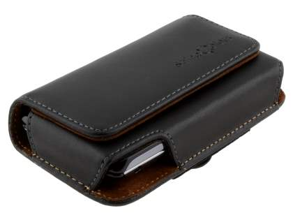 Extra-tough Genuine Leather ShineColours belt pouch for Sony Ericsson Xperia Play 4G