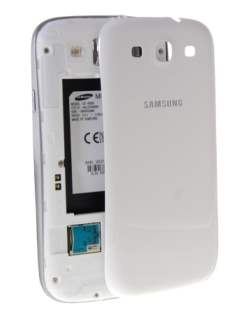Genuine Samsung Galaxy S3 i9300 Battery Cover - Ceramic White