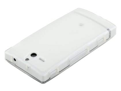 TPU Gel Case for Sony Xperia U ST25i - Frosted Clear