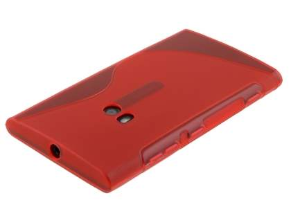 Wave Case for Nokia Lumia 920 - Frosted Red/Red