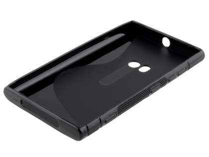 Wave Case for Nokia Lumia 920 - Frosted Black/Black