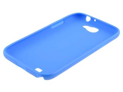 Samsung Galaxy Note 2 4G Frosted Colour TPU Gel Case - Blue