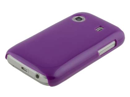 UltraTough Glossy Slim Case for Samsung Galaxy Y S5360T - purple