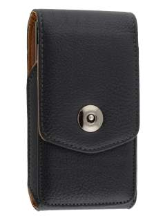 Textured Synthetic Leather Vertical Belt Pouch for Samsung I9210T Galaxy S2 4G - Belt Pouch