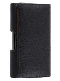 Textured Synthetic Leather Belt Pouch for LG Prada 3.0