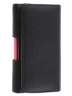 Textured Synthetic Leather Belt Pouch (Bumper Case Compatible) for HTC Touch HD2 - Belt Pouch