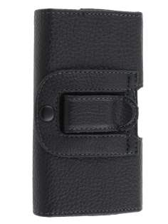 Textured Synthetic Leather Belt Pouch (Bumper Case Compatible) for HTC Touch HD2