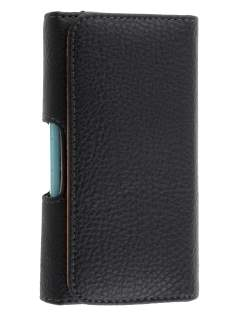 Textured Synthetic Leather Belt Pouch (Bumper Case Compatible) for Samsung Omnia 7 - Belt Pouch