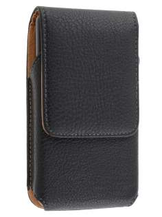 Textured Synthetic Leather Vertical Belt Pouch for LG Optimus 3D P920