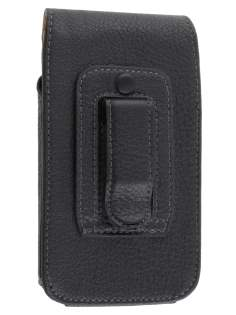 Textured Synthetic Leather Vertical Belt Pouch for LG Optimus 2X P990
