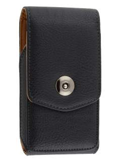 Textured Synthetic Leather Vertical Belt Pouch for Motorola ATRIX 2 MB865 - Belt Pouch